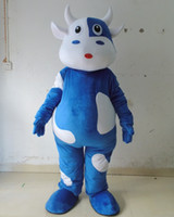 Wholesale Cow Adult Costume Character - Wholesale-character mascot adult cow costume milk cow costume