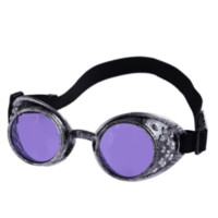 Wholesale Cosplay Goggles - D6li Vintage Style Steampunk Goggles Welding Punk Glasses Cosplay Gothic Retro Glasses 1PCS Free Shipping Jan21 RV