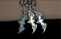 Wholesale Super Star Metal Women - Hot Batman Movie Keychain Super Hero Superhero Key Chain & Key Ring Holder Keyring Porte clef Gift Men Women Souvenirs KC-05