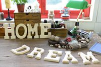 Wholesale Wooden Plaques Wholesale - Party Decoration Personalised Script Wooden Word Name Plaque Wall Door Art Sign Wedding Gift Wedding decoration
