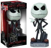 Wholesale One Piece Dragon Ball - The Nightmare Before Christmas Jack Cute Jack Skellington PVC One Piece Anime Action Figure Collectible Model Toy 16cm KT2638