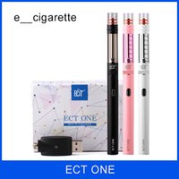 Wholesale Ect Ce4 - ECT one electronic cigarette Most Popular Lady Favourite VS Kanger esmart Starter Kit with Ego 510 Thread electronic cigarette VS ce4