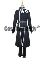 Sword Art Online Alicization Kirito Kirigaya Kazuto Black Set Costume Cosplay S002