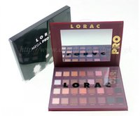 Wholesale Eye Shadow Palette 32 - MEGA LORAC PRO PALETTE 32 color eyeshadow Powder Eyeshadow Blush Makeup Cosmetic Palette Eye Shadow Palette Mineral Eyeshadow