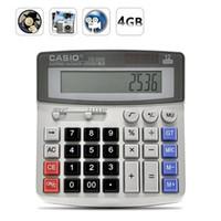 Wholesale Hidden Calculator - 4GB Calculator camera Real Office Business Calculator Hidden Pinhole MINI Camera DV DVR Video Recorder Mini spy Camcorder