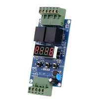 Wholesale Programmable Relay Module - 12V Dual Programmable Relay Control Board Cycle Delay Timer Timing Clock Switch Module