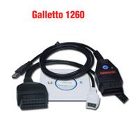 Wholesale Ecu Flasher Chip Tuning - 2016 Galletto 1260 ECU Chip Tuning Tool EOBD OBD2 OBDII Flasher Galletto 1260 ECU Flasher Free Shipping
