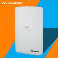 Wholesale cf network resale online - Hot Sale CF E316NV2 M Project Level Wireless Network Bridge Build in Dual dBi Polarized Attenna POE Power Supply Dual LAN Port Design