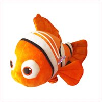 """Wholesale Plush Baby Toys Sale - Free Shipping Hot Sale Nemo 8"""" Finding Nemo 2 Clownfish Plush Doll Stuffed Toy For Baby Gifts"""