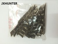 Wholesale Feather Arrow Fletching - 60 pk Archery hunting 4 inches Natural Turkey Barred Feathers Arrow Fletching for compound bow arrow shaft Shield shape