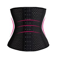 Wholesale Woman Super Sexy Tops - Wholesale-Super deal women lady steel bone waist slimmer corset top sport control tummy belt black sexy corsets and bustierst plus size
