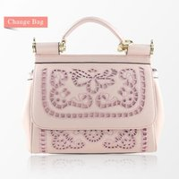 Wholesale Vintage Embroidery Thread - 2016 Embroidered Lace Bag Fashion Embroidery Vintage One Shoulder Handbag Women's Cross-body Bags Handbags Women Famous Brands Free Shipping