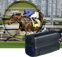 Wholesale Optic Speed - Wholesale-Golf Digital Range Finder Scope Golf RangeFinder Golf Training Tools Optic Telescope Distance and speed Meter