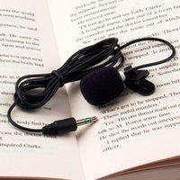 Wholesale Catheters For Sale - Wholesale- 2016 New 1Pcs 30Hz~15000Hz Mini 3.5mm Tie Lapel Lavalier Clip On Microphone for Lectures Teaching Wholesale Hot sale