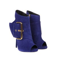 Wholesale Custom Rubber Mixing - 2016 Womens Boots Cheap Modest Sexy CUstom Made Plus Size Buckle Strap Fashion Ladies Party Evening Boots Shoes Ankle Boots Elegant Shoes