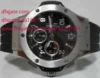 Wholesale Eta Ceramic - Mens Factory Supplier Supplier BRAND 44mm Stainless Steel Bang Magic King Power Asia ETA 7750 Chronograph Working Mens Men's Watches