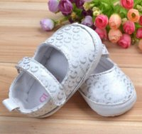 Wholesale Boy Shoes Retail - Retail brand newborn shoes Fashion baby girl shoes Comfortable outdoot baby princess shoes Cute designs baby shoes,kitty design