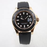 Wholesale Geneva Steel Watch - 5 color Rolix YACHT AAA MASTER automatic watch 41mm watches men luxury brand replicas model roMen's Wristwatch geneva diver