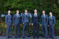 UK best groom wedding dress - New custom groom dress Notch Lapel Bridegroom Men Wedding suitable for the best man men's suit of the groom's wedding (Jacket+Pants)
