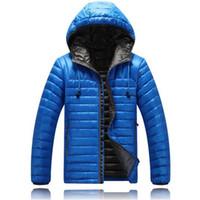 Wholesale Parkas Chaqueta - Fall-2016 Men's Ultra-Light Down Parka Winter Jackets Brand 90% Duck Down Coat Sports Outdoor Hood Chaqueta Hombre