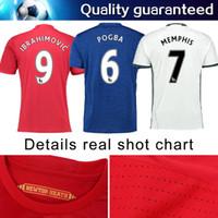 Wholesale Eco T - Top thai 2016 2017 Free shipping camiseta Reals top thai 16 17 survetement maillot de men t shirt