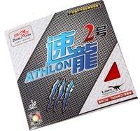 best table tennis rubbers großhandel-BEST- 2PCS Doublefish Athlon 2 Sportgummi Tischtennisgummis