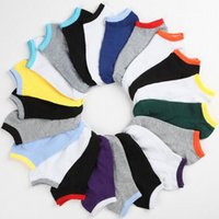 Wholesale Black Ankle Socks - Men's Slippers Socks Sox Cotton Blend Soft Casual Invisible No Show PEONY1011