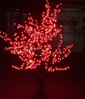 Wholesale Willow Trees - 2017 NEW Free ship LED Willow Tree Light LED 864LEDs 1.8m Green Color Rainproof Indoor or Outdoor Use MYY