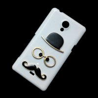 Wholesale Cover Case Xperia T - Case for Sony Xperia T LT30i LT30p, 3D Fashion Cute Chaplin Sexy Gentleman Hat Glasses Mustache Beard Designed Back Hard Protective Cover