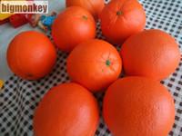 laranja de macaco vermelho venda por atacado-Big Macaco 7Cm Novo Vermelho Laranja Squishy Charme / Pu Lento Rising Squishy
