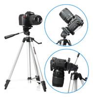 micro trípode al por mayor-WT-330A Cámaras digitales plegables Trípode Stand SLR Micro-SLR Adecuado para Canon Accesorios para Nikon Camera Tripod