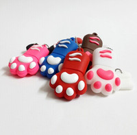 Cat Paw USB Flash Drives 4GB 8GB 16GB 2GB Pen Drive Pendrives USB Disk USB 2.0 Memory Stick