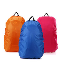 Wholesale women adult backpack - Waterproof Rain Cover Camping Climbing Backpack Dust Proof Covers For Men And Women Outdoor Supplies New Arrival 3 5yh R