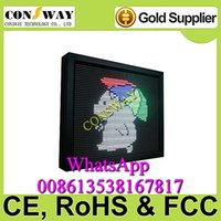 """Wholesale Led Electronic Signs - Free shipping and CE approved advertising led electronic board sign with size 28.3""""*22"""" and RGB color"""
