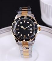 automatische gold-luxusuhr großhandel-automatische Datum Luxus Mode Männer und Frauen der Stahlband Bewegung Quarzuhr Männer Uhr