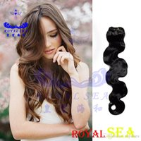 Wholesale Russian Virgin Hair 5a - 15% OFF Promotion - AAAAA Quality 5A Grade ! 100% Brazilian Virgin Hair Weft Extension Body Wave Remy Human weave extensions