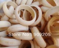 Wholesale Good Halloween Crafts - Good Wood Big Size DIY Handmade Unfinished Wooden Bangles Bracelet Wooden Craft 15pcs lot SMT-121J bangle cuff
