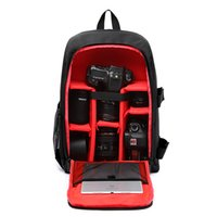 Waterproof DSLR Camera Backpack Removable Structure Pad para o Fashionable Journey Bag Fit Tripod System