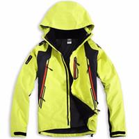 Wholesale Mens Ski Jacket Waterproof - Wholesale-2016 new brand men's winter warm Waterproof 3-layers snowboard windproof Ski Suit outdoor sport jackets coats for mens