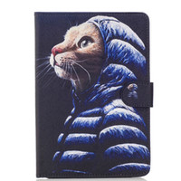 """Wholesale Tablet Case Painting - Painting PU Leather Back Cover Case For ipad air 1 2 for ipad Mini 2 3 4for ipad pro 9.7"""" Tablet 10 10.1 inch Universal Card Tablet PC PAD"""