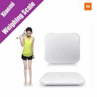 Wholesale Xiaomi Scale Mi Smart Weighing Scale Support Android iOS Above Bluetooth Xiaomi Losing Weight Digital Scale