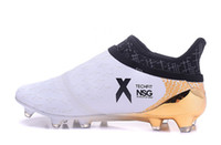 speed football boots - New white Chaos accelerator speed of light series soccer cleats boots X PureChaos football shoes Purechaos FG AG39 X soccer shoe