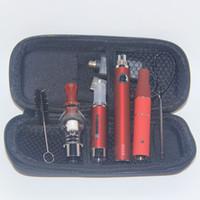 evod vaporizer starter kit großhandel-510 Elektrisches Tupferwachsöl 3-in-1-Zerstäuberstiftkassette Alles in einem Dry Herb E-Flüssigkeit EVOD Vaping 3in1 Vapes Starter Kit