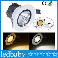 X20 COB Led Downlights 9W 12W 15W 18W Dimmable Led encastré au plafond Lumières anti éblouissement AC 110-240V + Pilotes