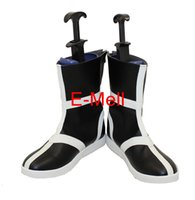 Wholesale Cosplay BLEACH Kurosaki Ichigo Men s Shoes High Quality Leather Boots Custom