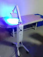 Wholesale Pdt Led Beauty Light Machine - Popular PDT LED Light Therapy Machine Wth Seven Color LED Light Therapy PDT Led Facial Salon Beauty Machine Floor Standing Movable