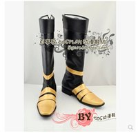 Wholesale Valentines Costume Accessories - Wholesale-Free Shipping! Cosplay Final Fantasy VII Vincent Valentine Cosplay Boots