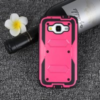 Wholesale Shell Holster Combo - For Samsung Galaxy A710 2016 A510 A310 Colorful Defender Hybrid Case Shell Holster Combo 3 in 1 Belt Clip Kickstand Cover Retail Packaging