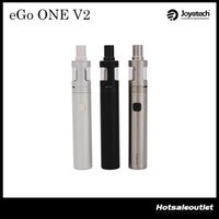 Wholesale Ego Standard Battery - Joyetech eGo ONE V2 Standard Version & XL Version Starter Kit with 2ml Atomizer and 1500mAh 2200mAh Joyetech eGo ONE V2 Battery 100%Original
