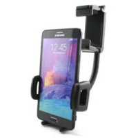 Wholesale Cheap Galaxy Note3 - Car Rearview Mirror Mount Cradle Holder For Samsung Galaxy Note 4 IV N9100 Note3 Cheap holder bracelet